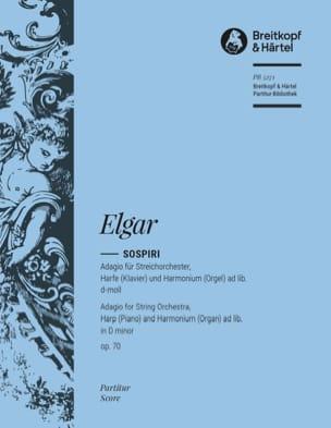 Sospiri op. 70 d-moll - Partitur ELGAR Partition laflutedepan