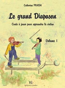 Le Grand Diapason Volume 1 Catherine Prada Partition laflutedepan