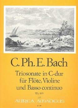 Triosonate C-Dur Wq 149 -Flöte Violine u. Bc laflutedepan