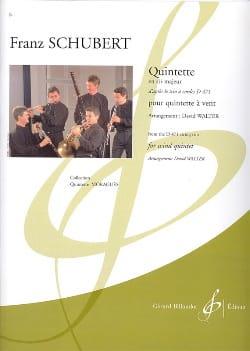 Quintette en Sib Majeur SCHUBERT Partition Quintettes - laflutedepan