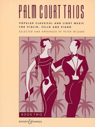 Palm Court Trios Volume 2 Peter Wilson Partition Trios - laflutedepan