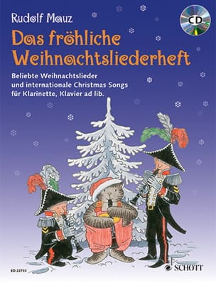 Das Fröhliche Weihnachtsliederheft Rudolf Mauz Partition laflutedepan