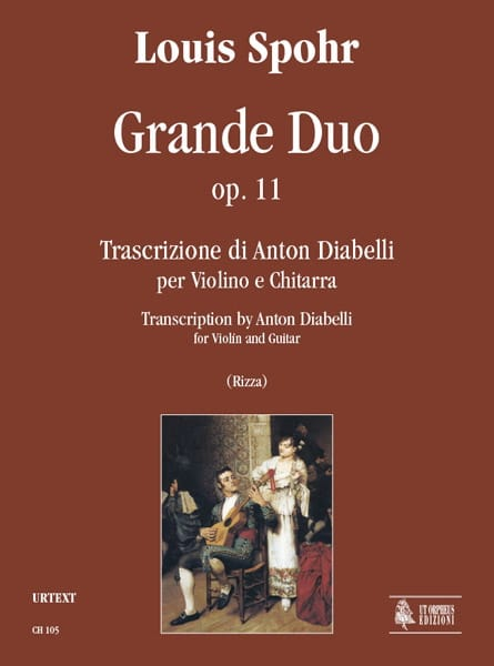 Grand Duo Op.11 - SPOHR - Partition - 0 - laflutedepan.com