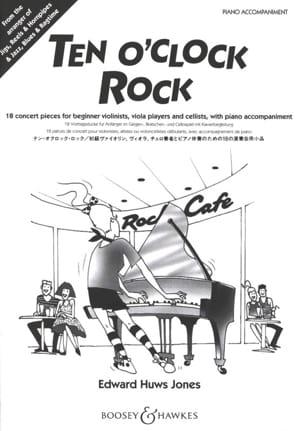 Jones Edward Huws - Ten O'clock Rock - Piano Accompaniment - Partition - di-arezzo.co.uk