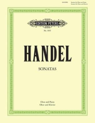 2 Sonaten - Oboe Klavier HAENDEL Partition Hautbois - laflutedepan