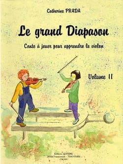 Le Grand Diapason Volume 2 Catherine Prada Partition laflutedepan