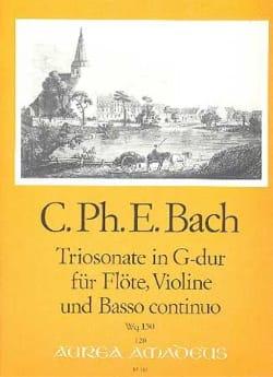 Triosonate G-Dur Wq 150 -Flöte Violine u. Bc laflutedepan