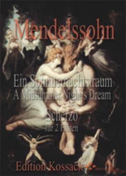 Ein Sommernachtstraum - Scherzo - 2 Flöten MENDELSSOHN laflutedepan