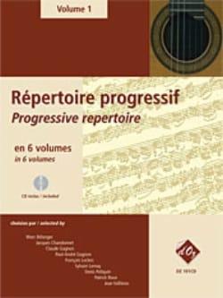 Répertoire Progressif Pour la Guitare Volume 1 laflutedepan