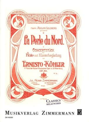 La Perle du Nord, op. 86 Ernesto KÖHLER Partition laflutedepan