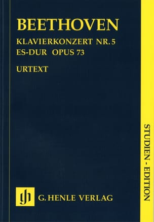 Concerto pour piano n° 5 en Mib Majeur, opus 73 BEETHOVEN laflutedepan