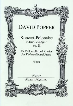 Konzert-Polonaise op. 28 - David Popper - Partition - laflutedepan.com