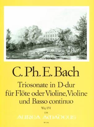 Triosonate D-Dur Wq 151 -Flöte o. Violine Violine u. Bc laflutedepan