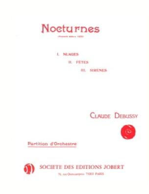 3 Nocturnes - Conducteur - DEBUSSY - Partition - laflutedepan.com