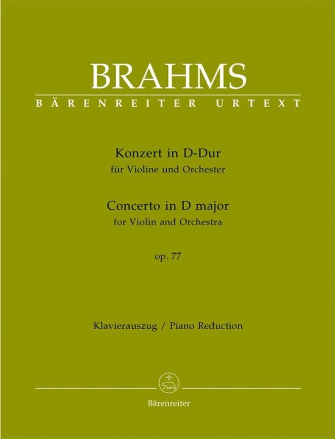 Concerto pour Violon en ré majeur op. 77 - BRAHMS - laflutedepan.com