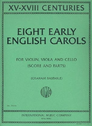 Eight Early English Carols - Partition - Trios - laflutedepan.com