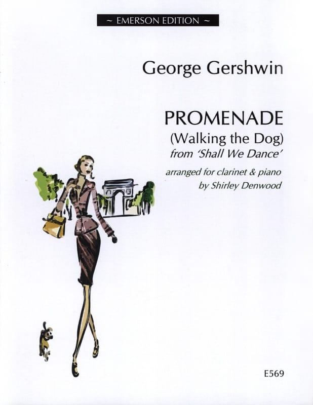 Promenade - Clarinette et Piano - GERSHWIN - laflutedepan.com