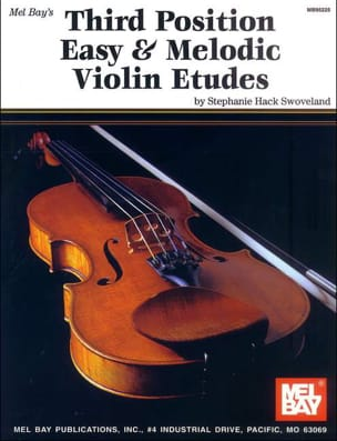 Third position easy and melodic violin etudes laflutedepan