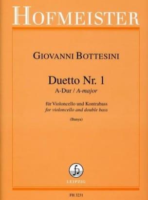 Duetto N°1 En la Maj. BOTTESINI Partition 0 - laflutedepan
