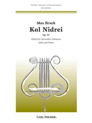 Max Bruch - Kol Nidrei, op. 47 - Partition - di-arezzo.co.uk