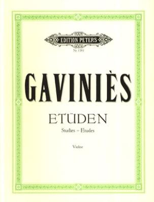 24 Matinées, études caprices Davisson Pierre Gaviniès laflutedepan