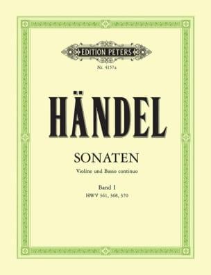 Sonaten Band 1 HAENDEL Partition Violon - laflutedepan