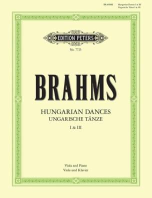 BRAHMS - Hungarian dances n ° 1 and 3 - Partition - di-arezzo.com