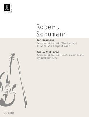 Der Nussbaum - Le Noyer - Violon et piano SCHUMANN laflutedepan