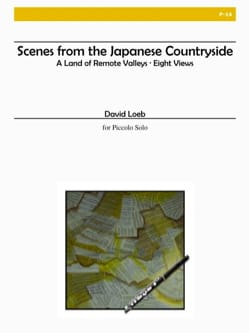Scenes from the japanese countryside David Loeb Partition laflutedepan