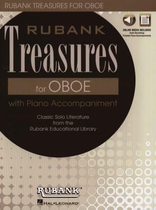 Rubank Treasures for Oboe - Hautbois et Piano Partition laflutedepan