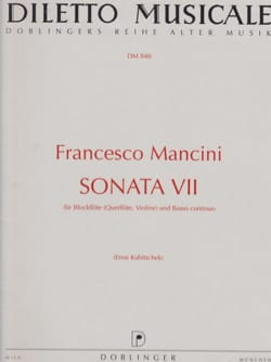Sonata Nr. 7 - Blockflöte und Bc Francesco Mancini laflutedepan