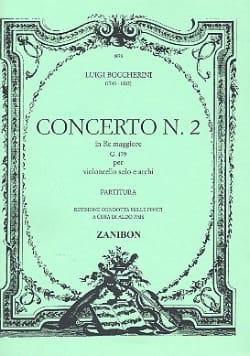 Concerto n° 2 Cello, ré maggiore G. 479 BOCCHERINI laflutedepan