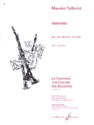 Valsinella - Maurice Faillenot - Partition - laflutedepan.com