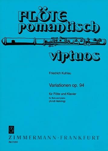 Variationen op. 94 - Flöte Klavier - laflutedepan.com