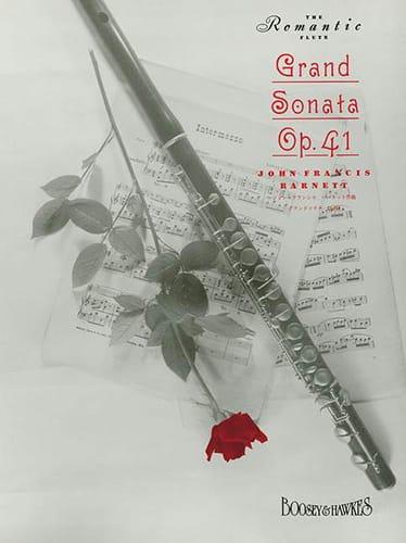 Grand Sonata Opus 41 - John Francis Barnett - laflutedepan.com