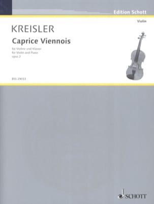 Fritz Kreisler - Caprice vienesa op. 2 - Partition - di-arezzo.es