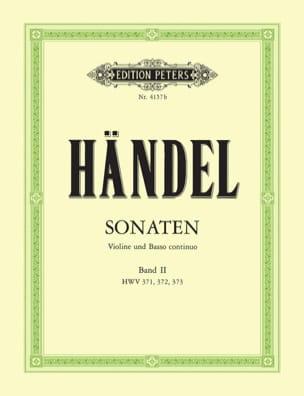 Sonaten Band 2 HAENDEL Partition Violon - laflutedepan