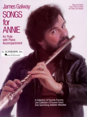 Songs for Annie James Galway Partition laflutedepan