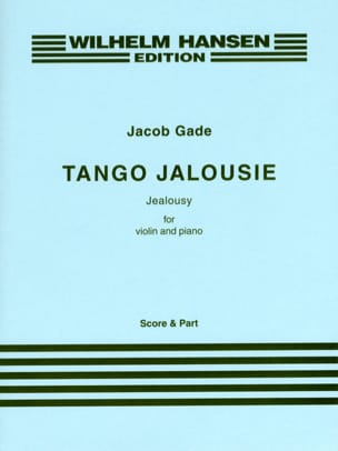 Tango Jalousie Jacob Gade Partition Violon - laflutedepan