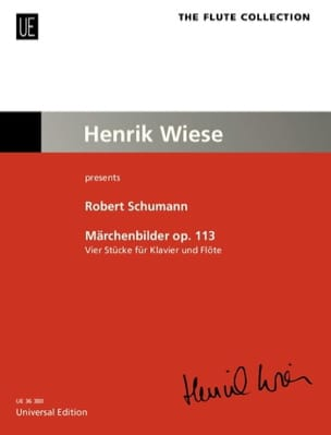 Märchenbilder, op. 113 - Flûte et piano SCHUMANN laflutedepan