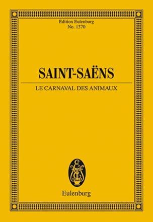Le Carnaval des Animaux SAINT-SAËNS Partition laflutedepan