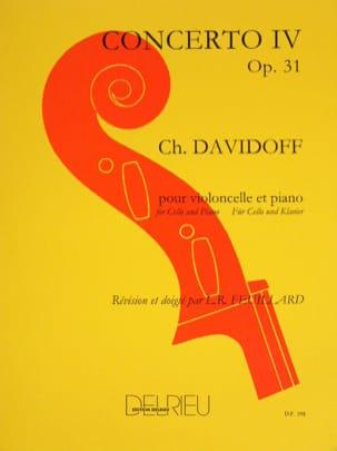 Concerto N° 4 en Mi Mineur Op. 31 Charles Davidoff laflutedepan