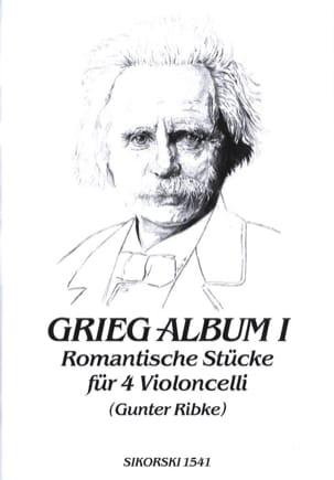 Grieg-Album - Volume 1 GRIEG Partition Violoncelle - laflutedepan