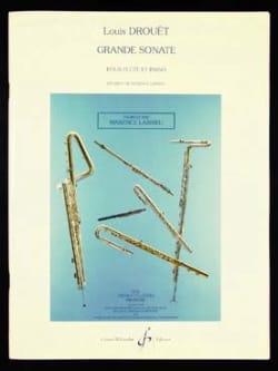 Grande sonate - Flûte et piano Louis Drouet Partition laflutedepan