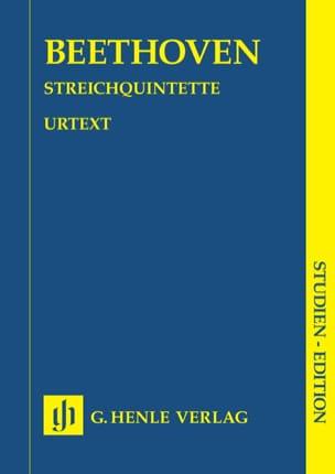 Quintettes à cordes BEETHOVEN Partition Petit format - laflutedepan
