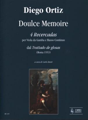 4 Recercadas - Doulce Mémoire Diego Ortiz Partition laflutedepan