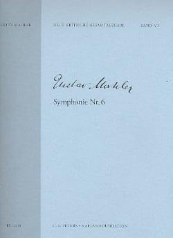 Symphonie N°6 MAHLER Partition Grand format - laflutedepan