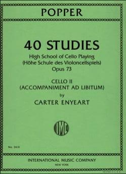 40 Studies Op.73 - Accompagnement Violoncelle 2 laflutedepan