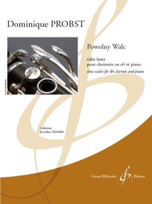 Powolny Walc - Clarinette et piano Dominique Probst laflutedepan