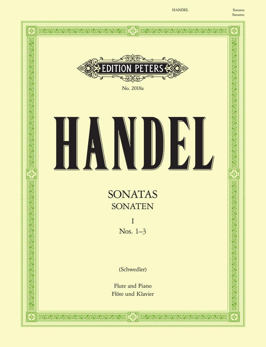 Flute Sonatas Volume 1 - N° 1-3 - HAENDEL - laflutedepan.com